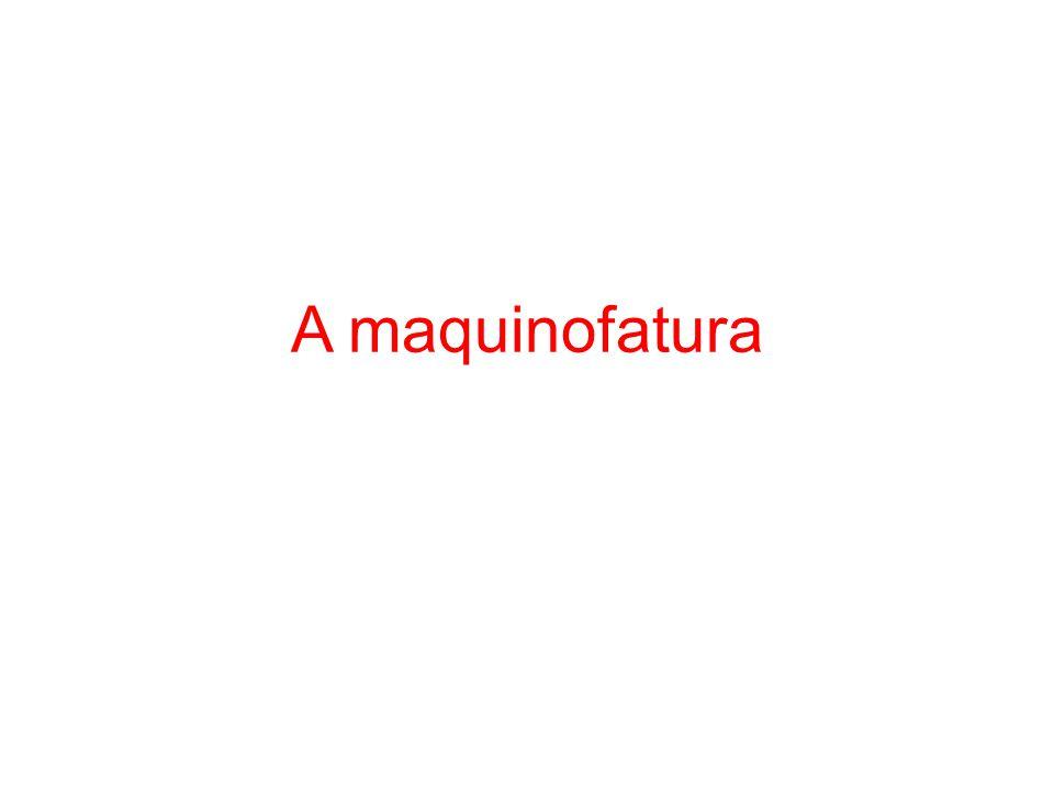 A maquinofatura