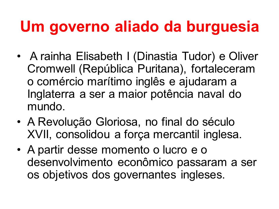 Um governo aliado da burguesia