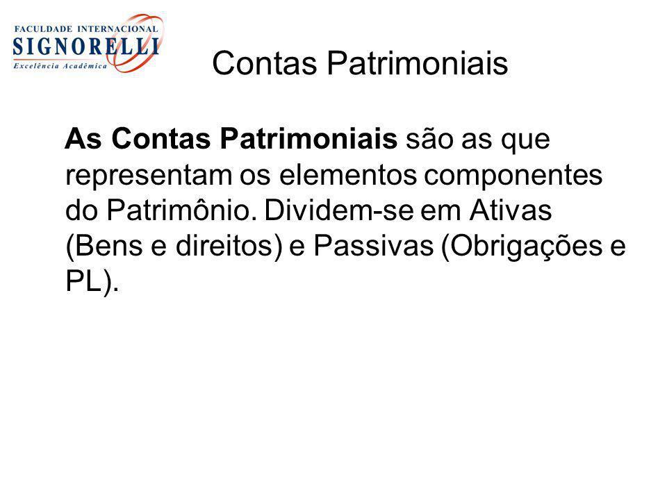 Contas Patrimoniais