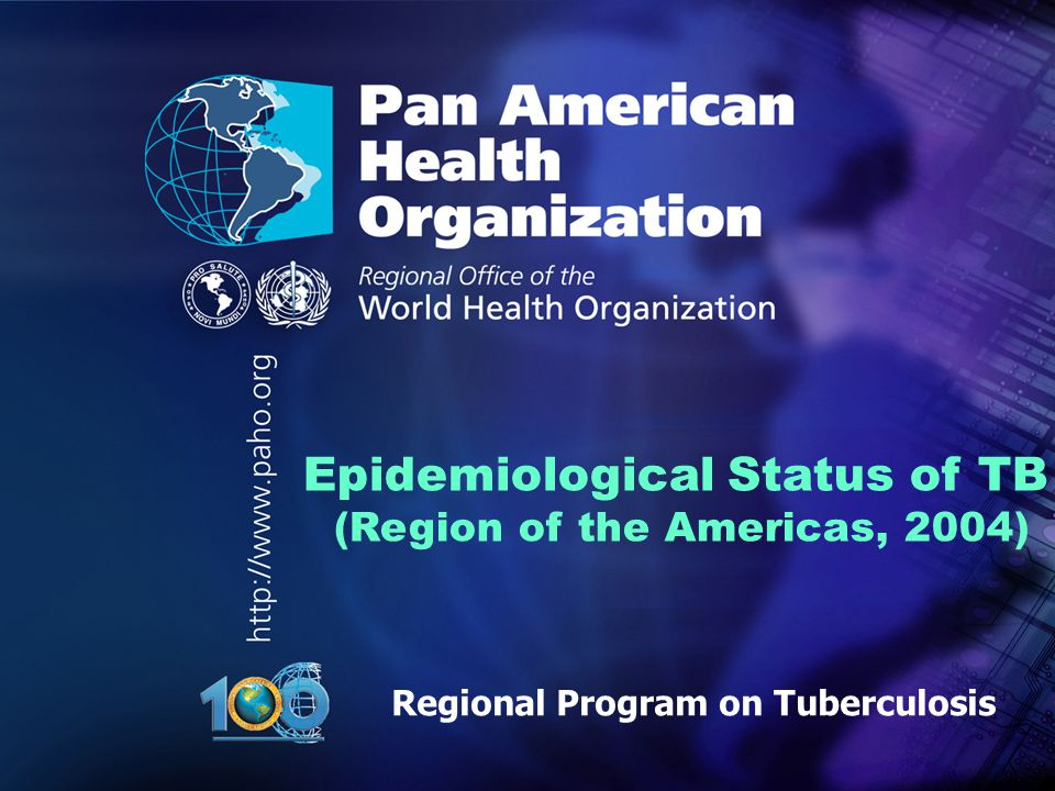 Regional Program on Tuberculosis