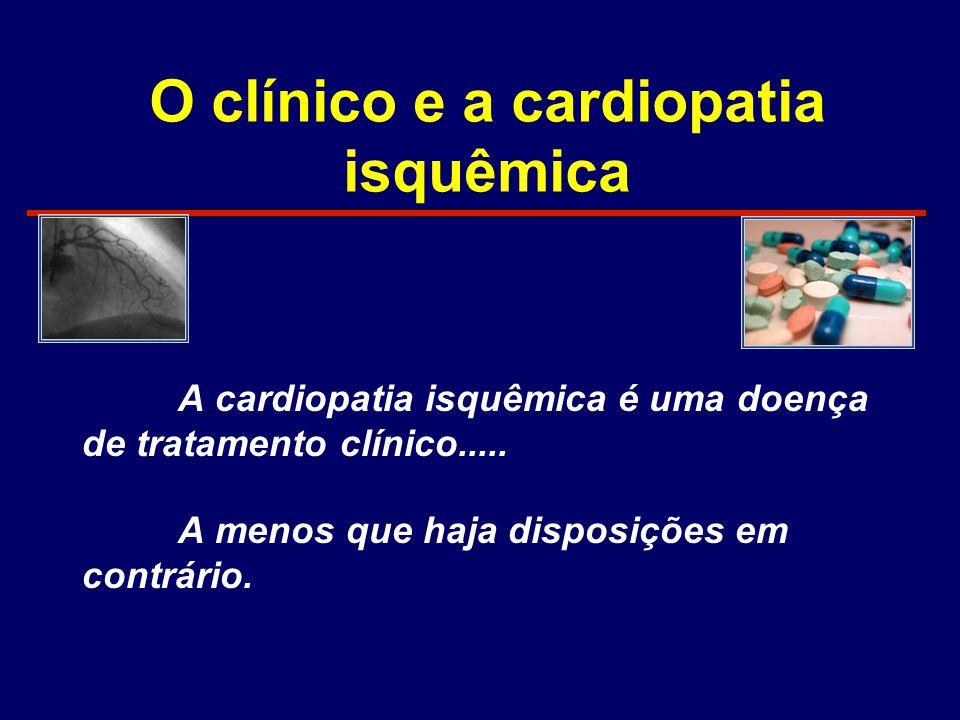 O clínico e a cardiopatia isquêmica