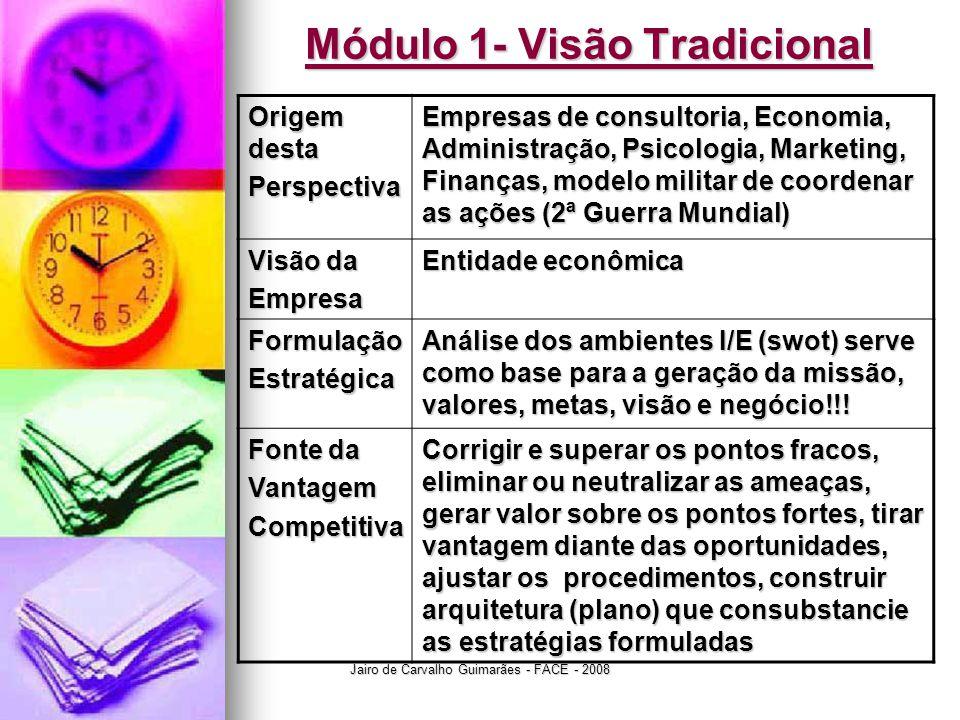 Módulo 1- Visão Tradicional
