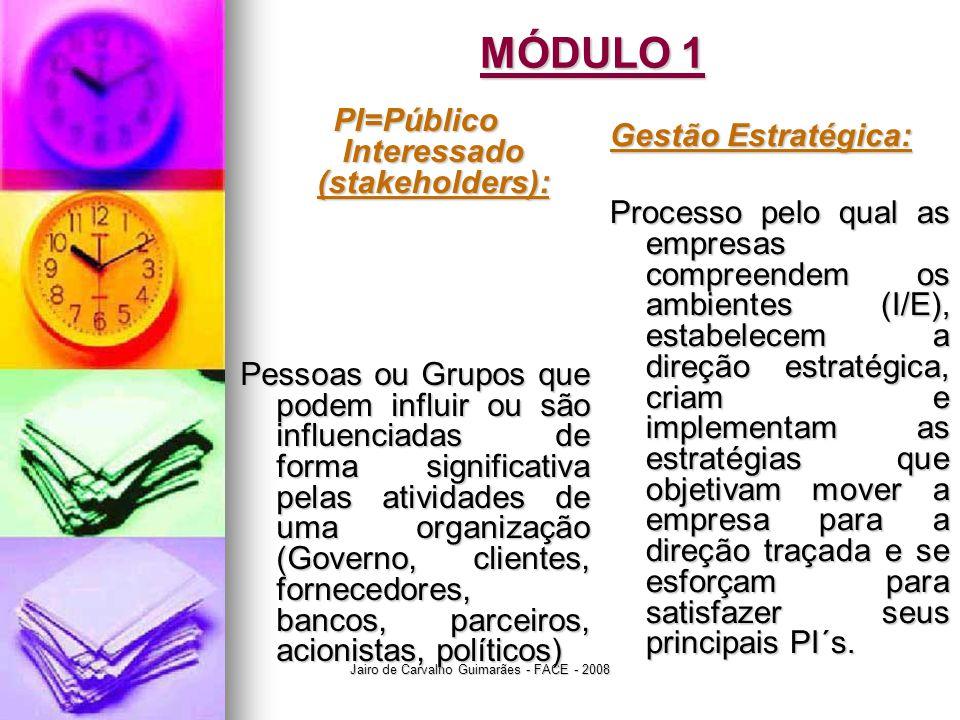 PI=Público Interessado (stakeholders):