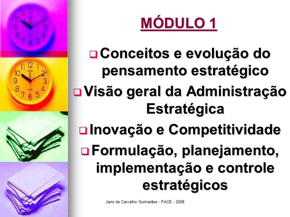 Conceitos e evolução do pensamento estratégico