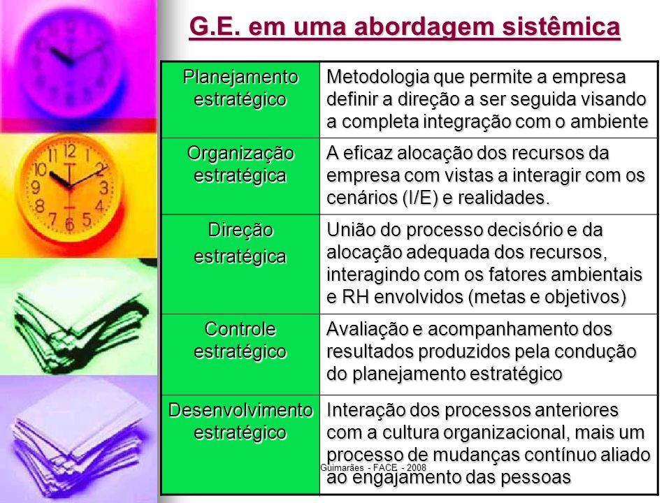 G.E. em uma abordagem sistêmica