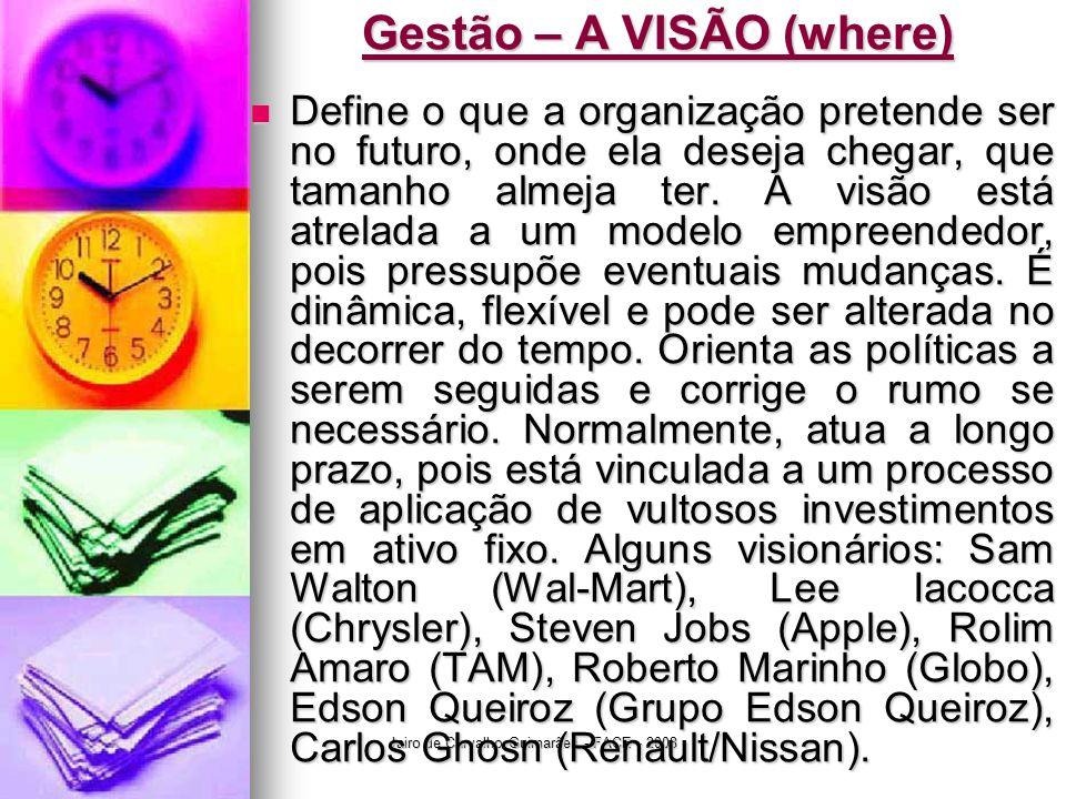 Gestão – A VISÃO (where)