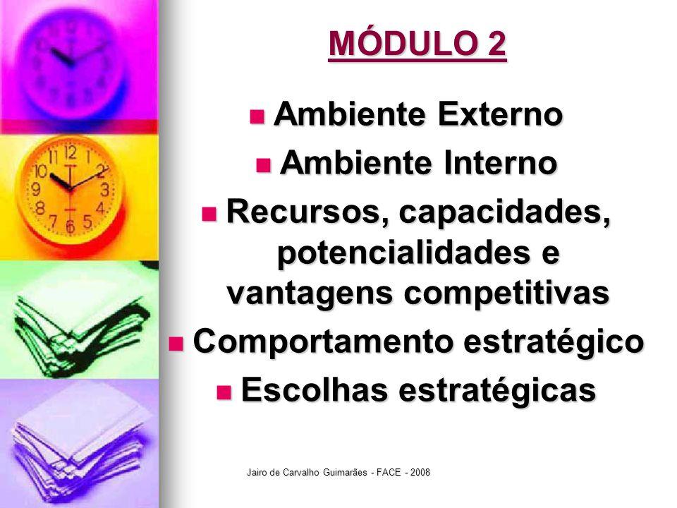 Recursos, capacidades, potencialidades e vantagens competitivas