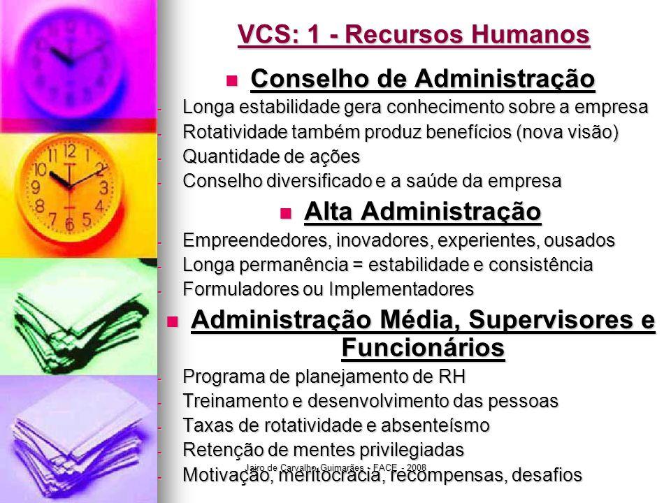 VCS: 1 - Recursos Humanos