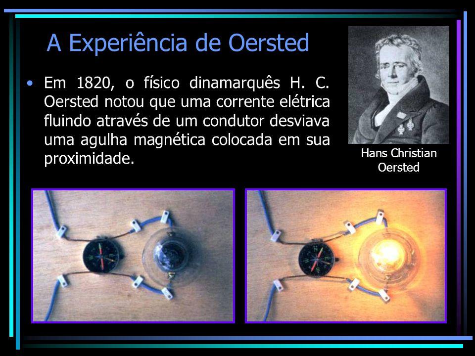 A Experiência de Oersted
