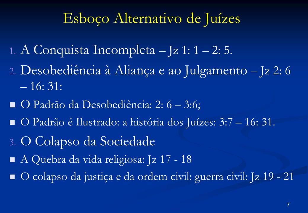 Esboço Alternativo de Juízes