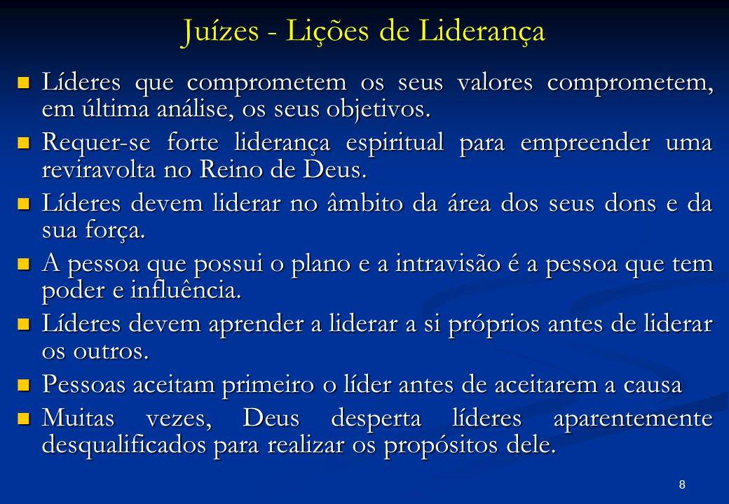 Juízes - Lições de Liderança