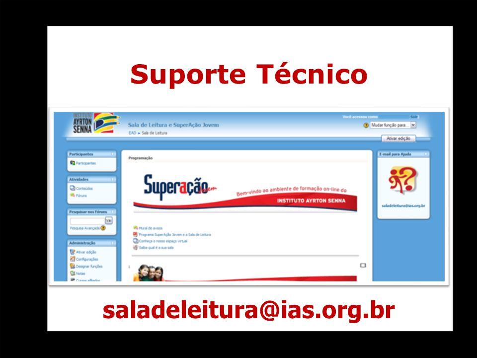 Suporte Técnico saladeleitura@ias.org.br
