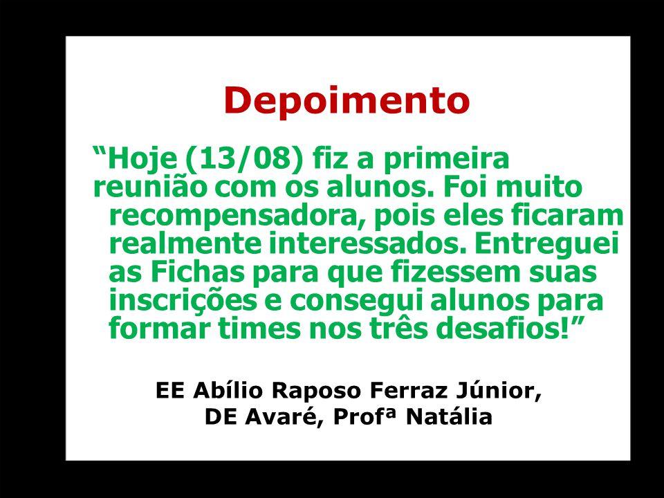 EE Abílio Raposo Ferraz Júnior,