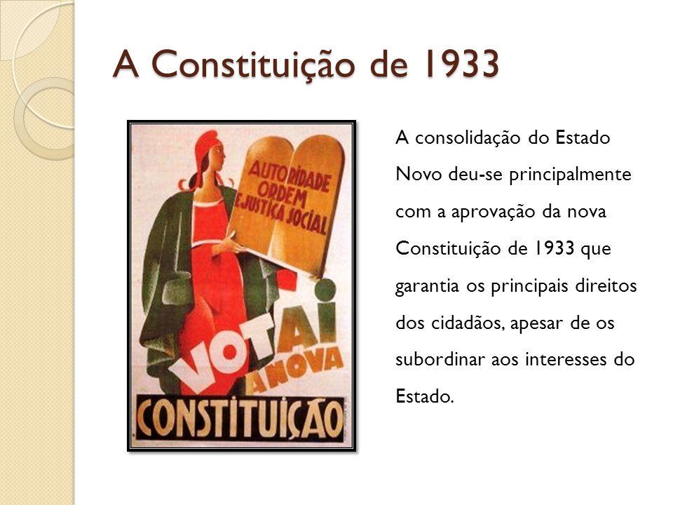 A Constituição de 1933