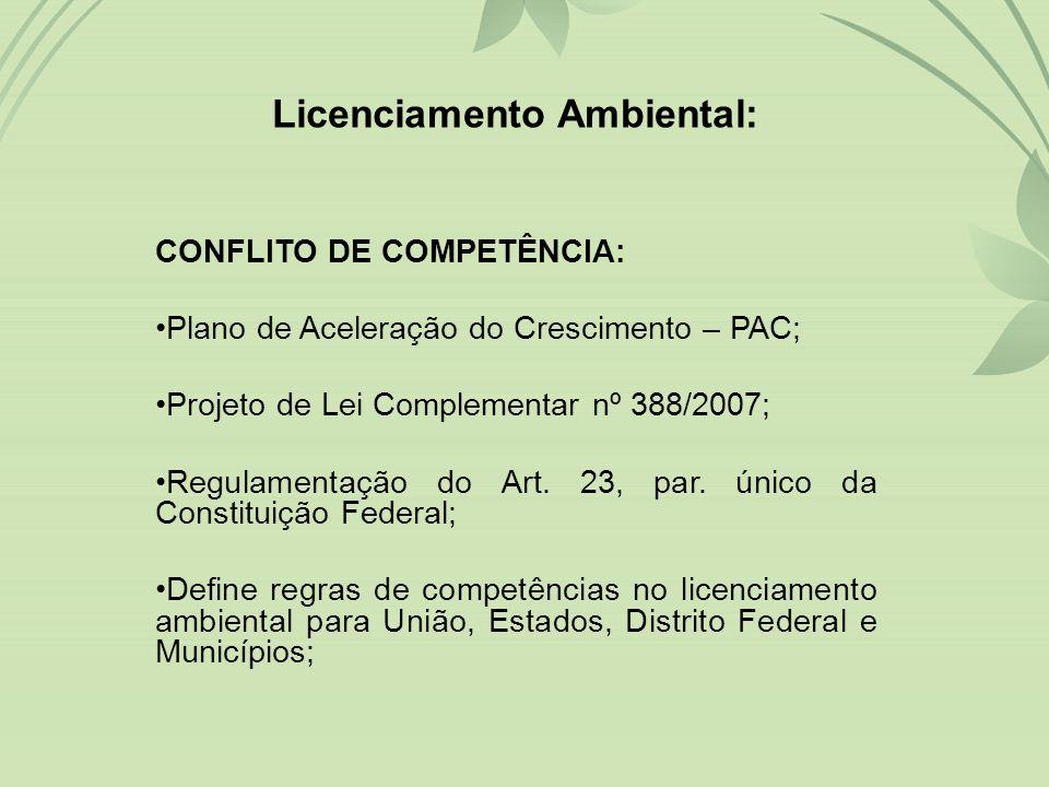 Licenciamento Ambiental: