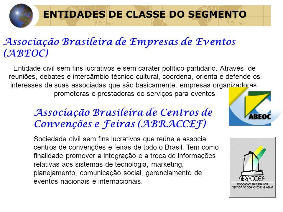 ENTIDADES DE CLASSE DO SEGMENTO