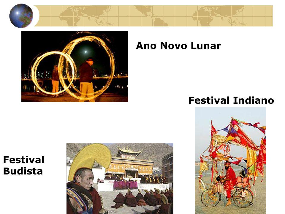Ano Novo Lunar Festival Indiano Festival Budista