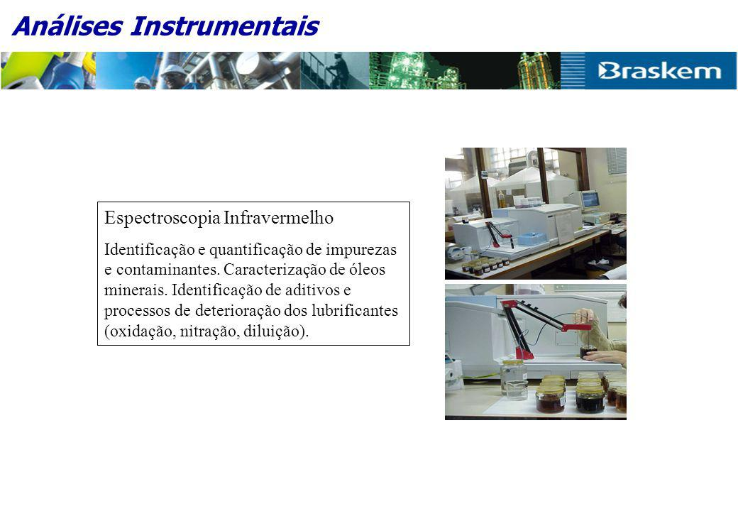 Análises Instrumentais