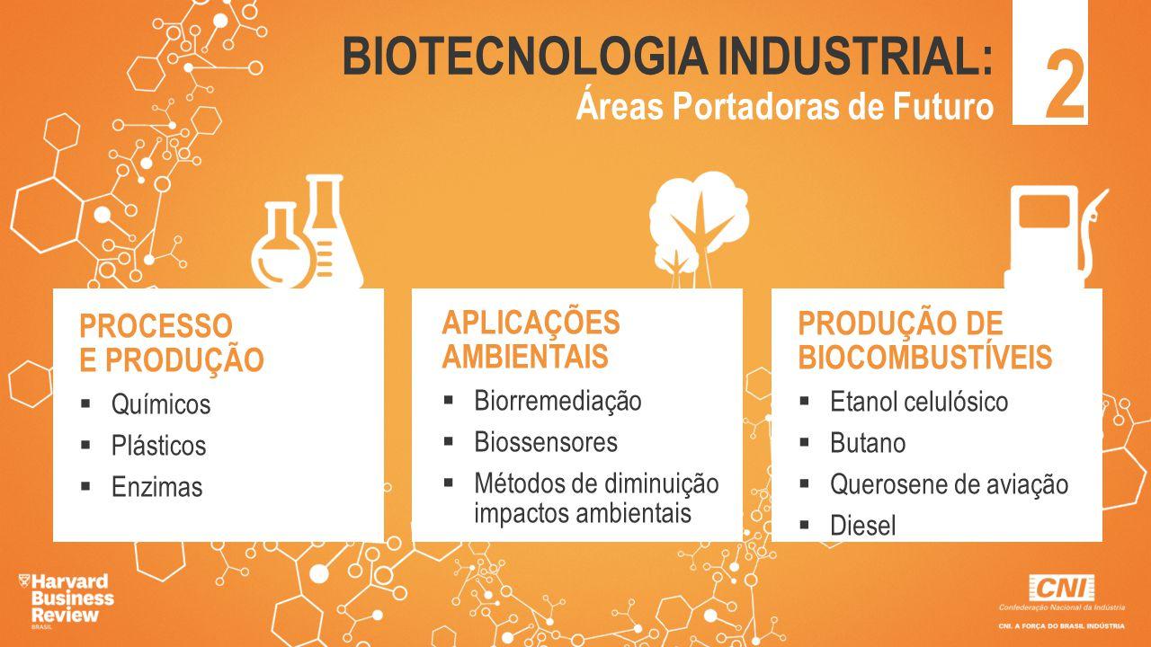 2 BIOTECNOLOGIA INDUSTRIAL: Áreas Portadoras de Futuro