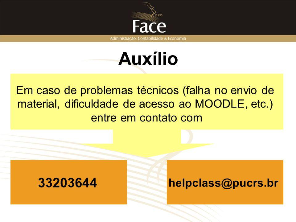 Auxílio 33203644 Em caso de problemas técnicos (falha no envio de