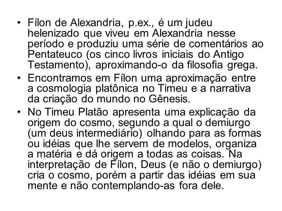 Fílon de Alexandria, p. ex
