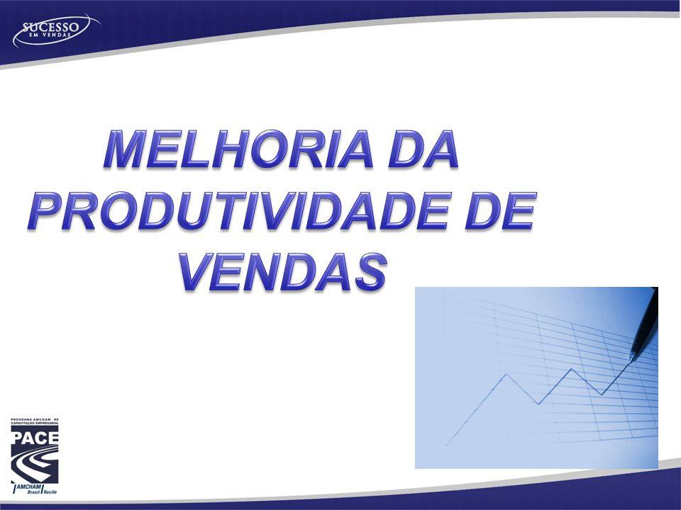 MELHORIA DA PRODUTIVIDADE DE VENDAS