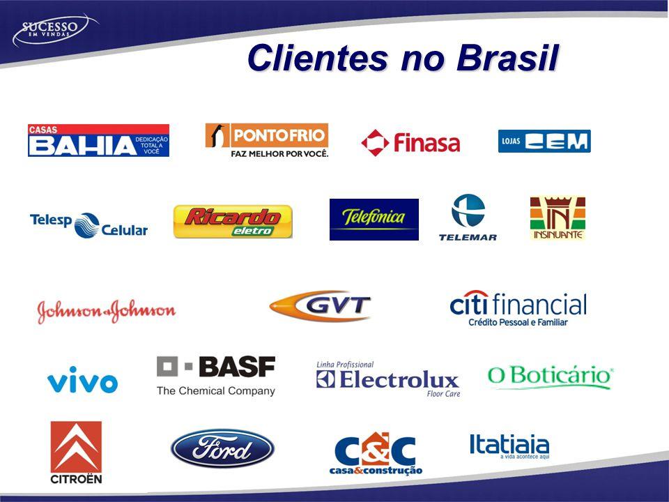 Clientes no Brasil