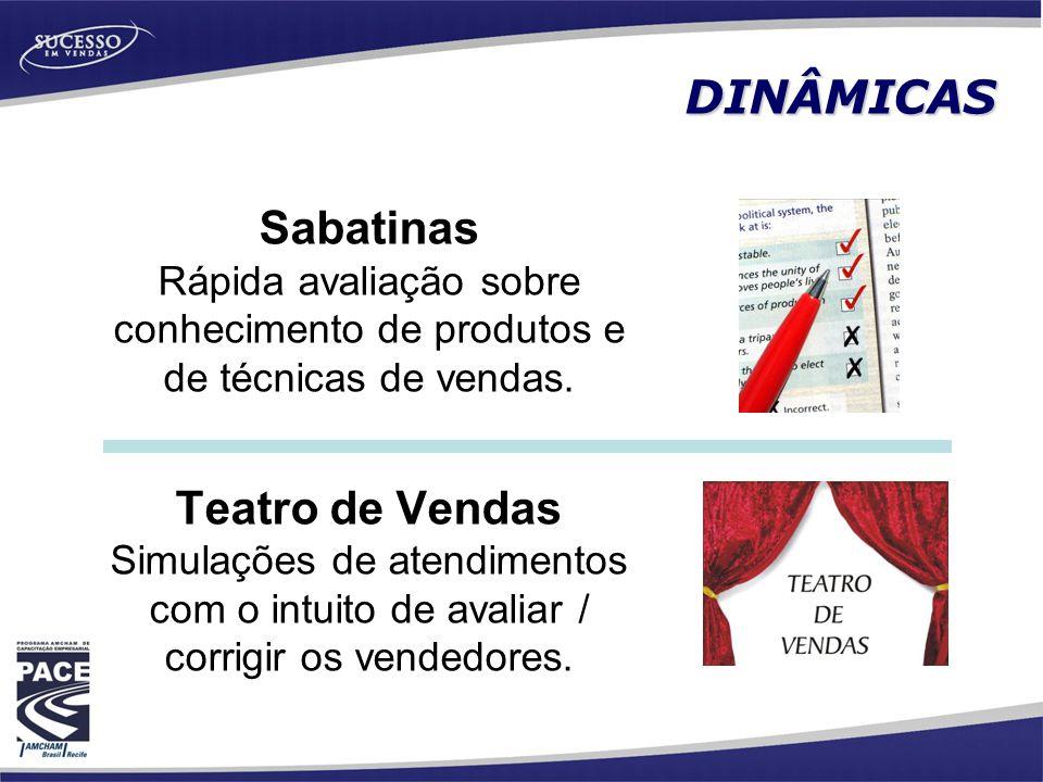 Sabatinas Teatro de Vendas