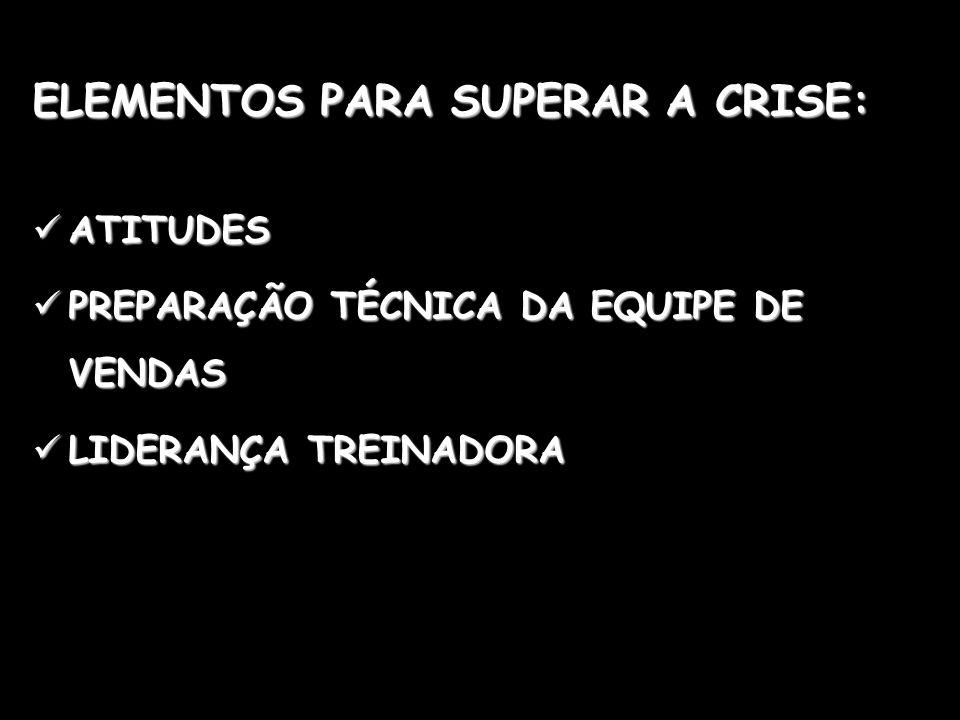 ELEMENTOS PARA SUPERAR A CRISE: