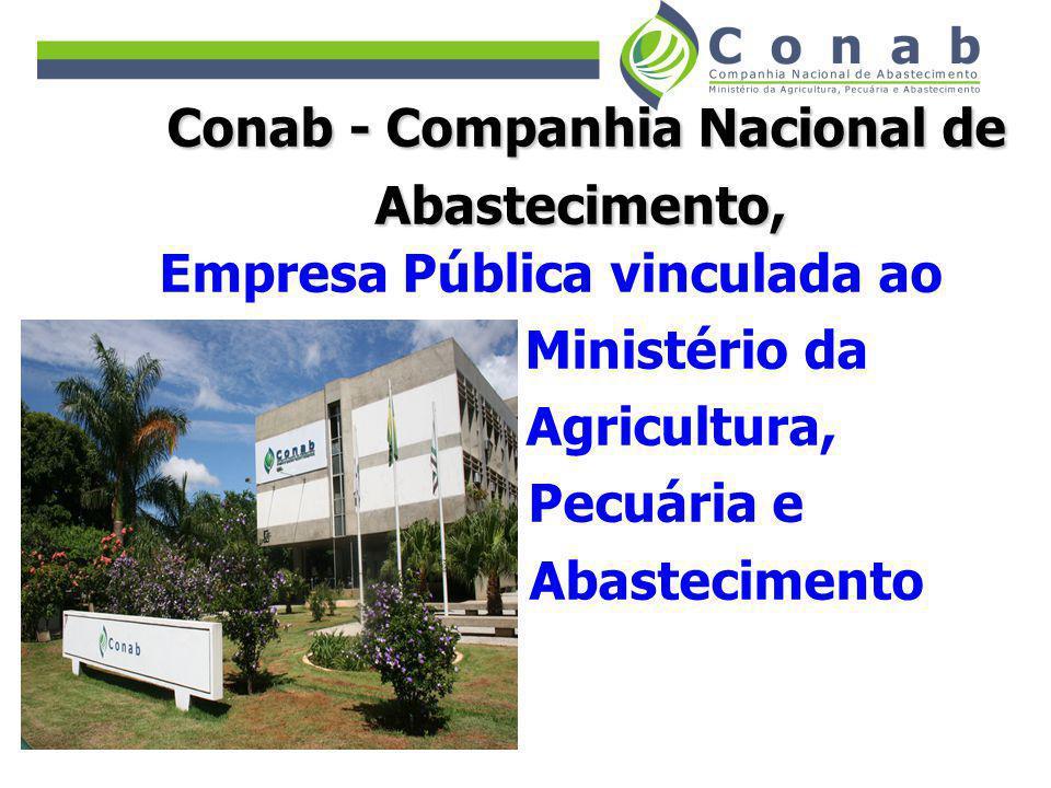 Conab - Companhia Nacional de Empresa Pública vinculada ao