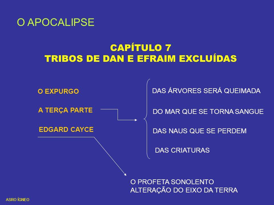 TRIBOS DE DAN E EFRAIM EXCLUÍDAS