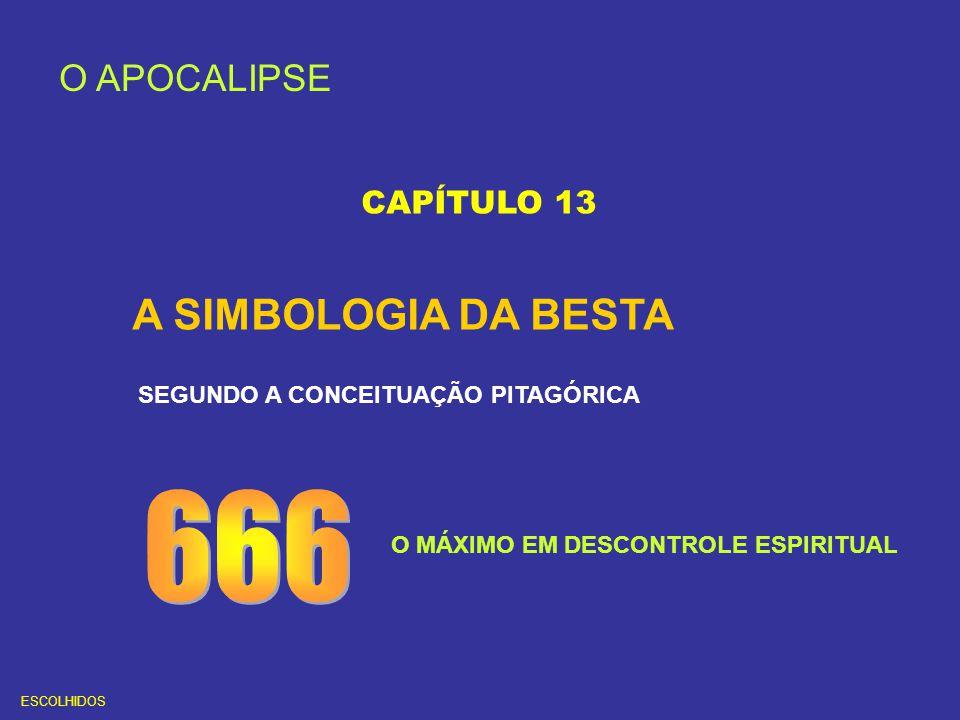 666 A SIMBOLOGIA DA BESTA O APOCALIPSE CAPÍTULO 13