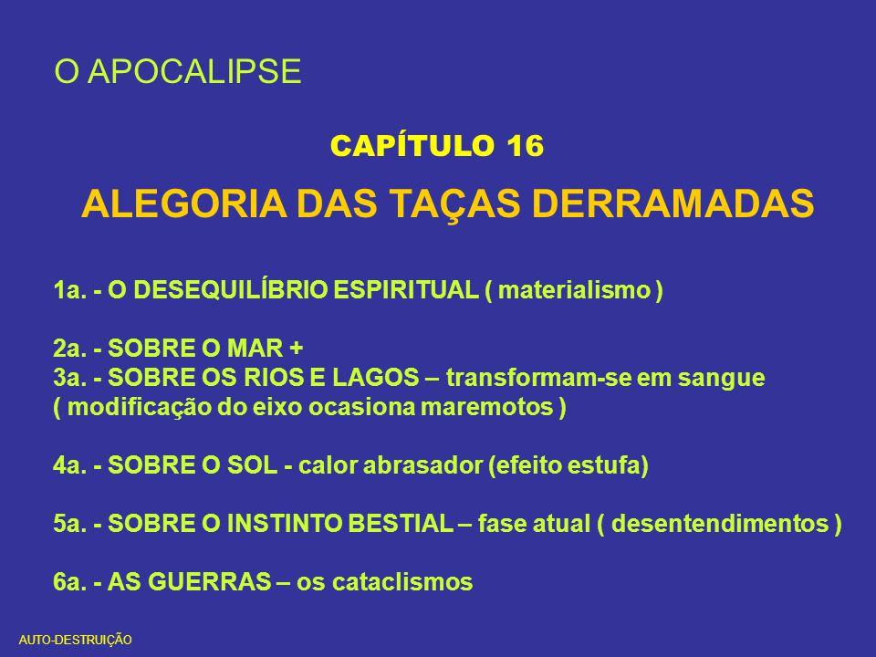ALEGORIA DAS TAÇAS DERRAMADAS