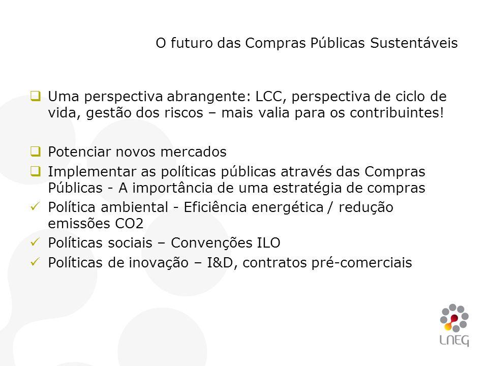 O futuro das Compras Públicas Sustentáveis