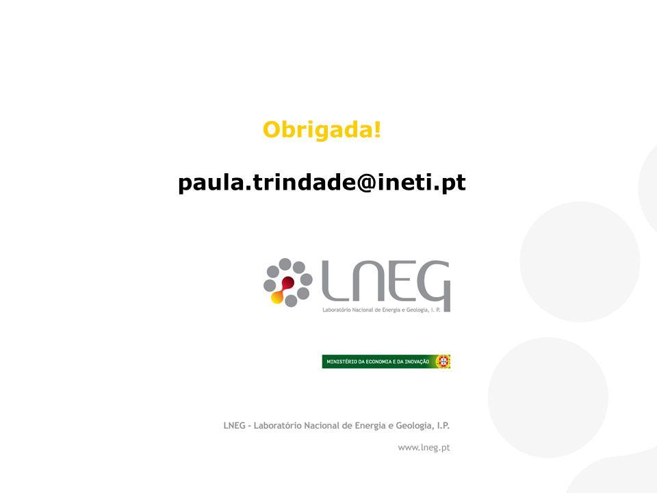 Obrigada! paula.trindade@ineti.pt