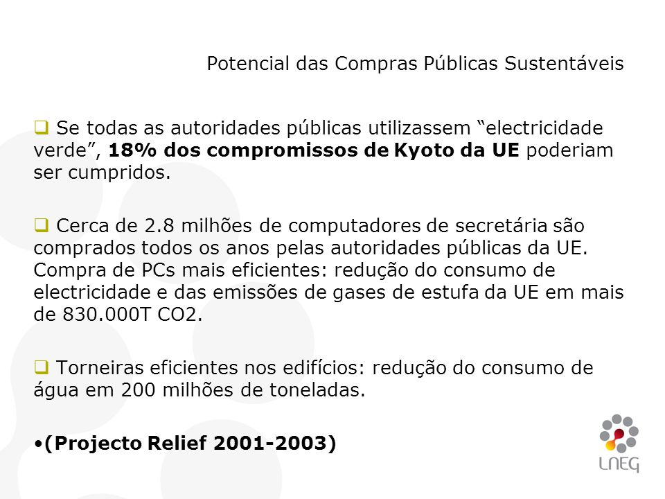 Potencial das Compras Públicas Sustentáveis