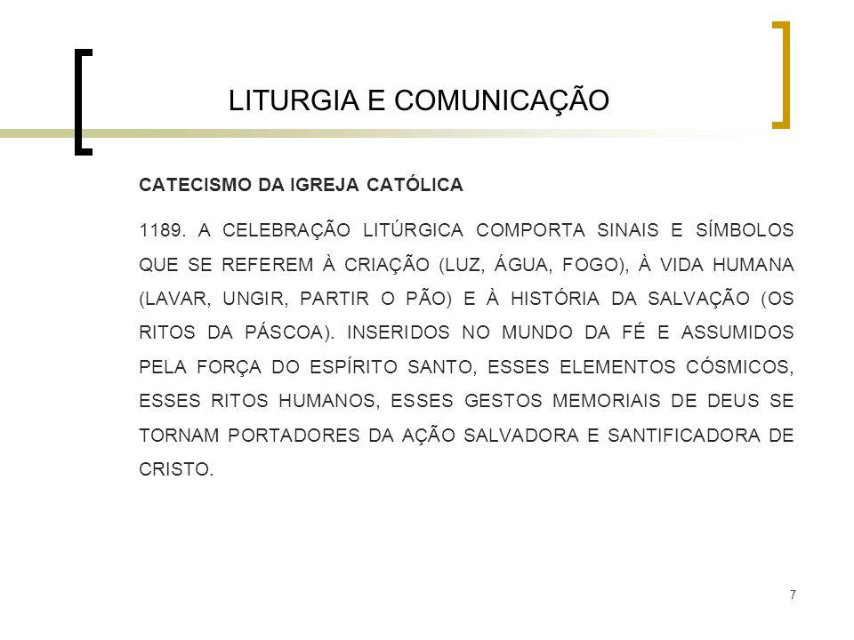 LITURGIA E COMUNICAÇÃO