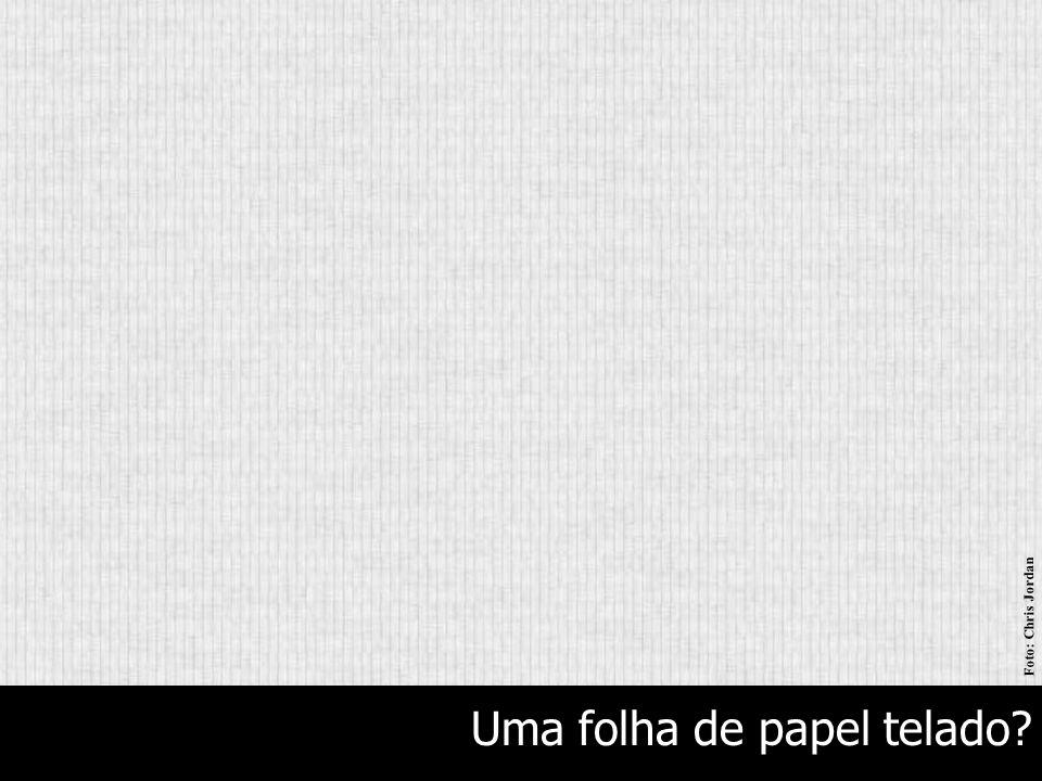 Uma folha de papel telado