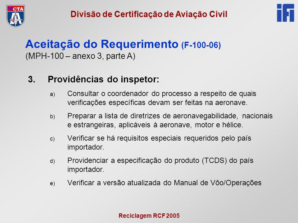 Aceitação do Requerimento (F-100-06)