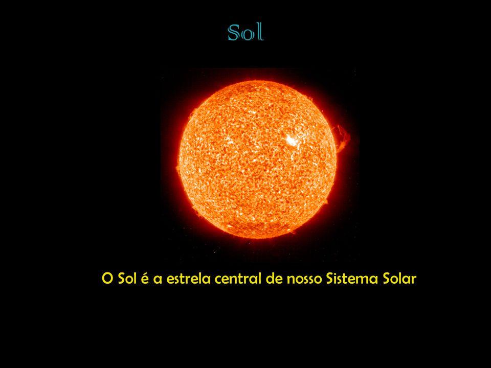O Sol é a estrela central de nosso Sistema Solar