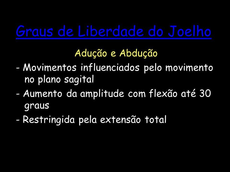 Graus de Liberdade do Joelho