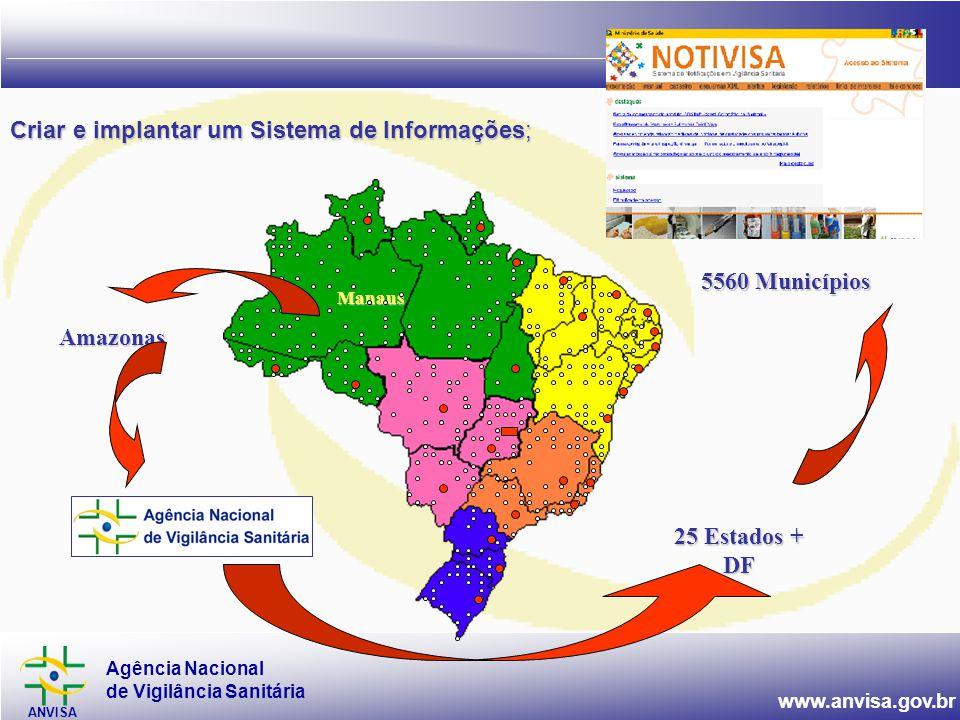 Criar e implantar um Sistema de Informações;
