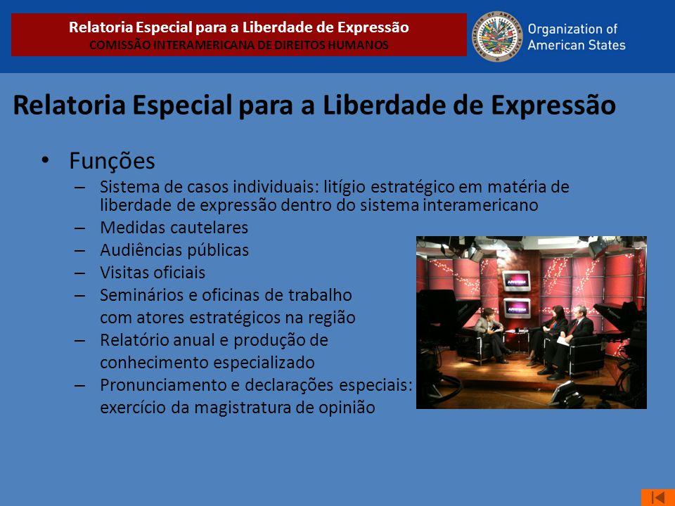 Relatoria Especial para a Liberdade de Expressão