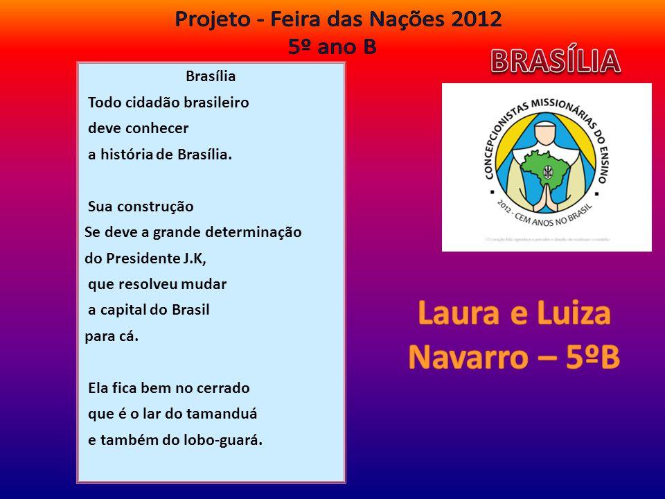 Laura e Luiza Navarro – 5ºB