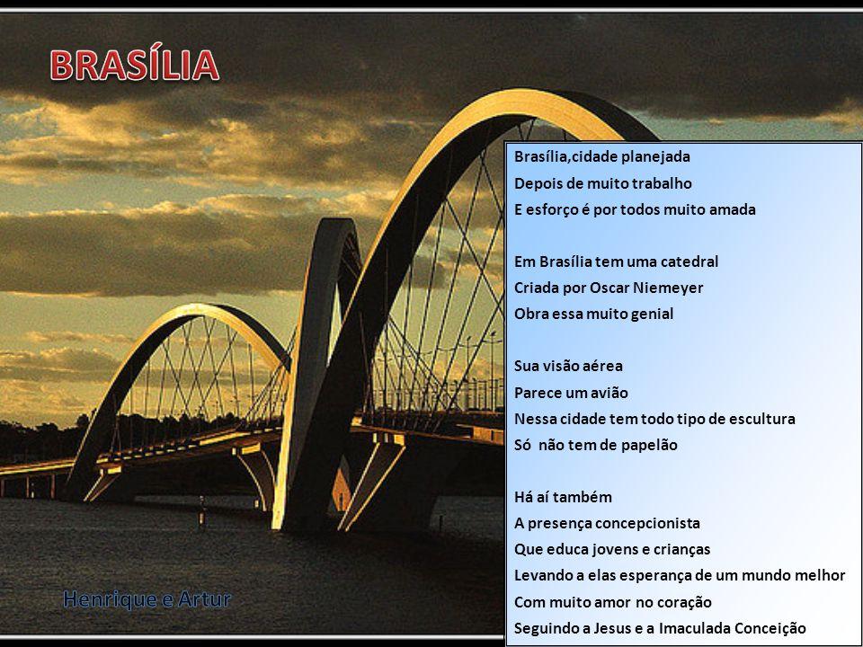 BRASÍLIA Henrique e Artur Brasília,cidade planejada