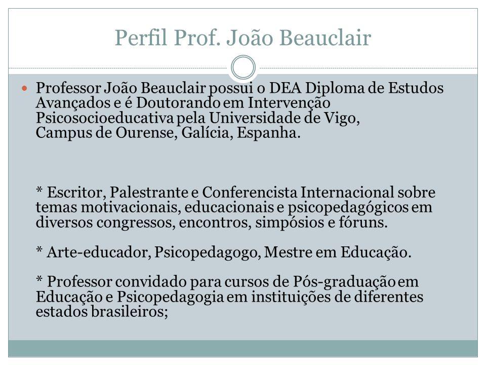 Perfil Prof. João Beauclair