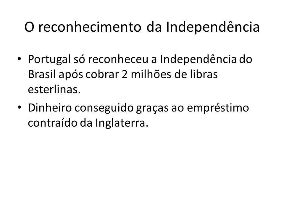 O reconhecimento da Independência