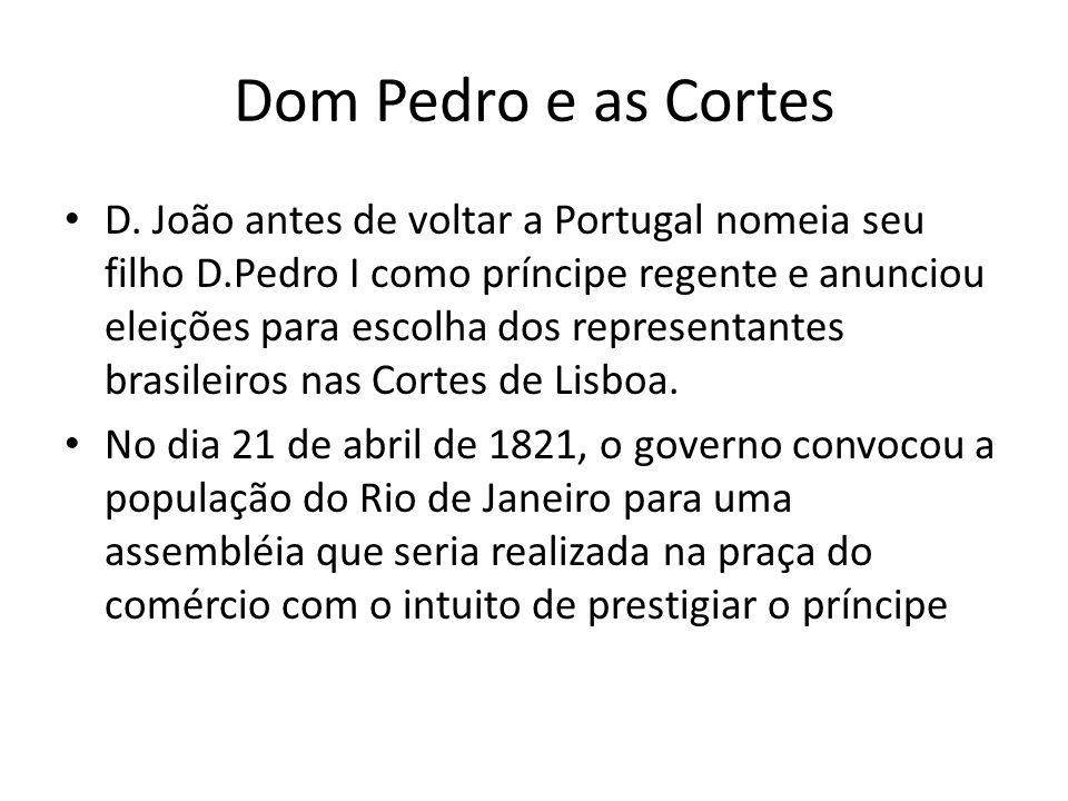 Dom Pedro e as Cortes