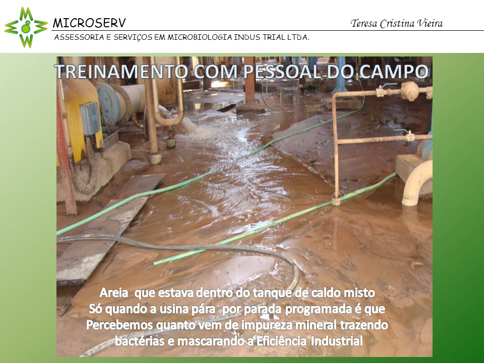 TREINAMENTO COM PESSOAL DO CAMPO