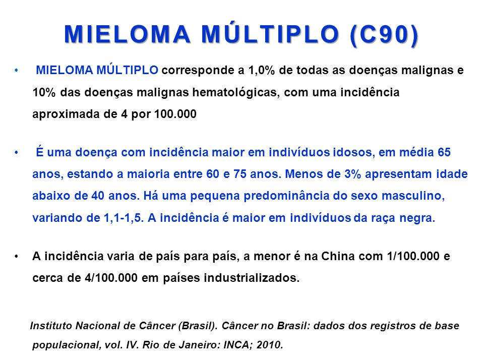 MIELOMA MÚLTIPLO (C90)